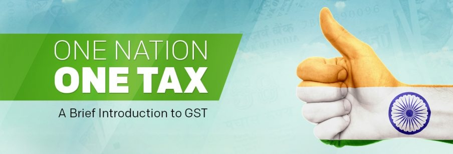 one nation one tax- GST