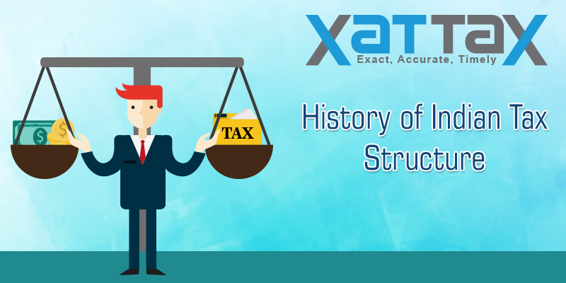 History of Indian Tax Structure