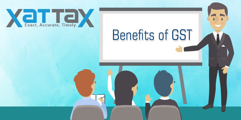 Goods & Services Tax benefits