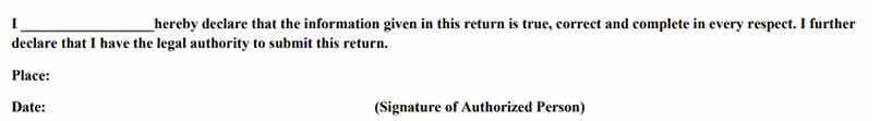 Aadhaar based signature