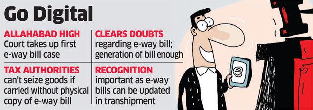 E-way Bill - Go Digital