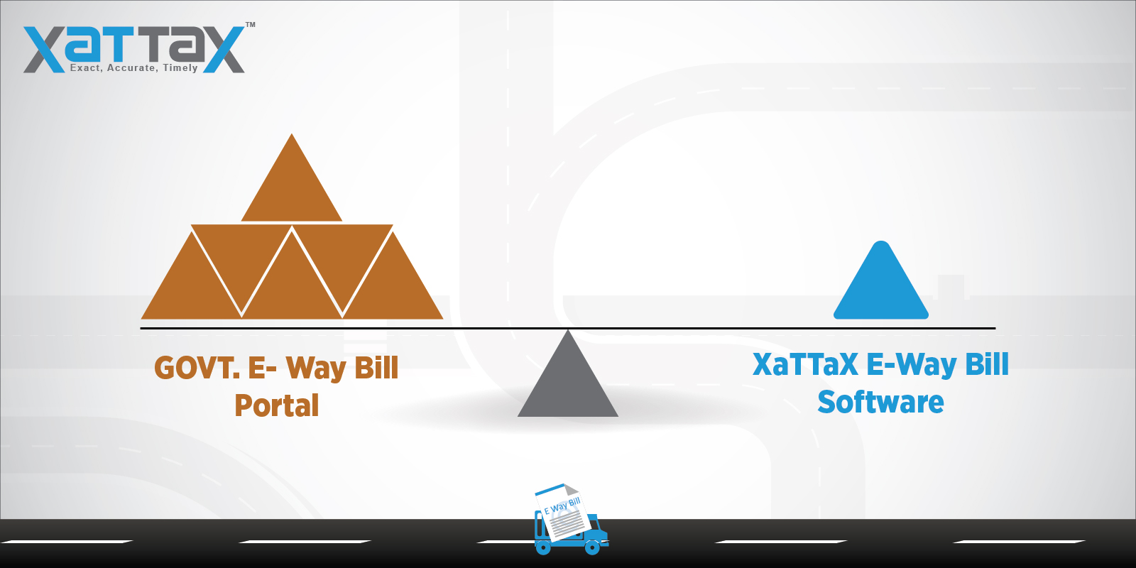 E-Way Bill Solution: Comparison between Govt Portal vs XaTTaX