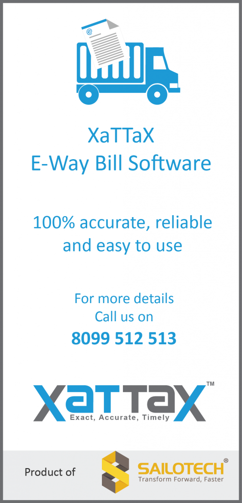 XaTTaX E-Way Bill Software