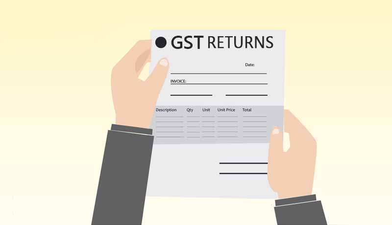 Simplified GST returns
