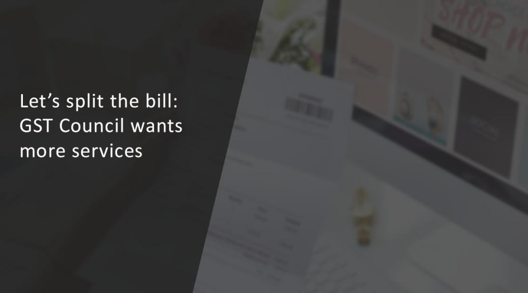 GST Bill Split