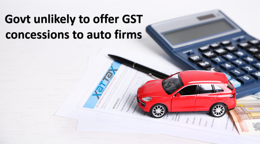 gst auto industry