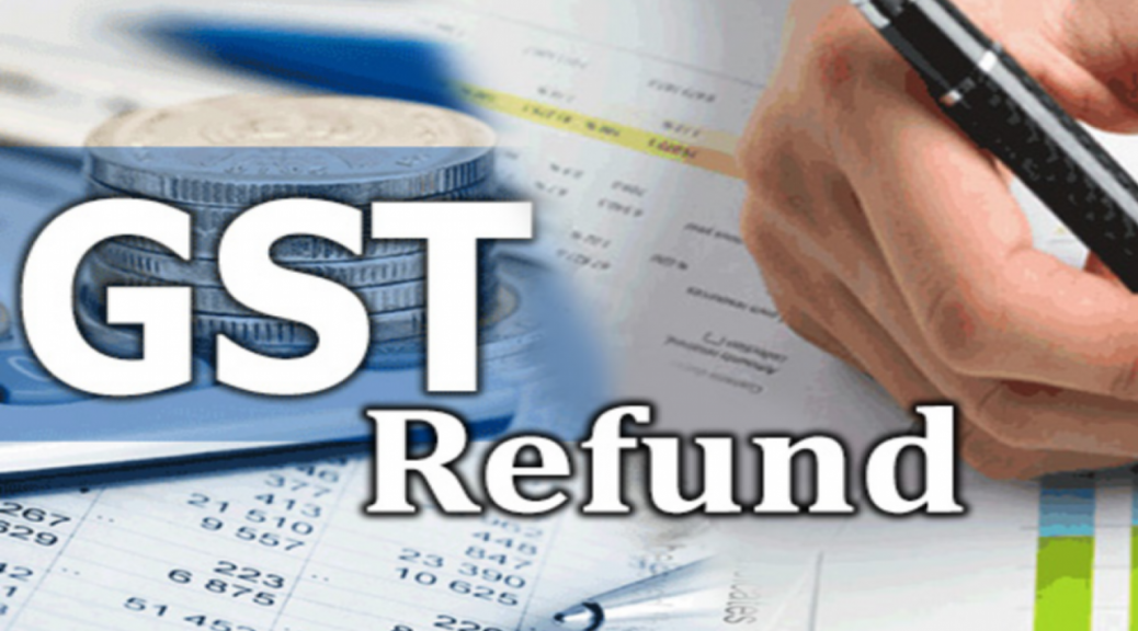 gst refund claim