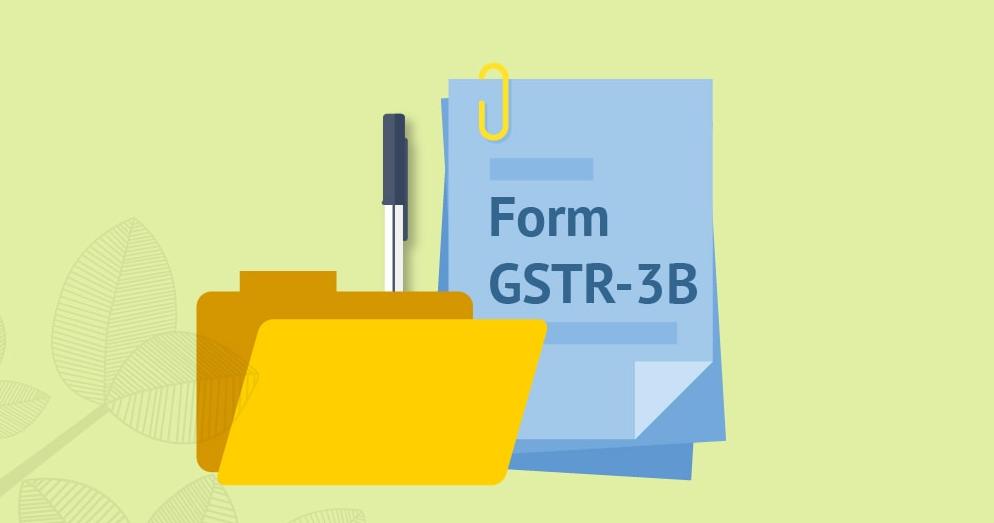 GST: GSTR Form 3B