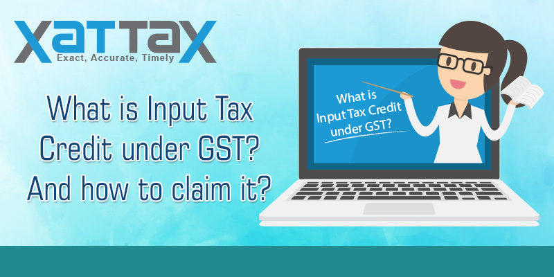 What is Input Tax Credit under GST?